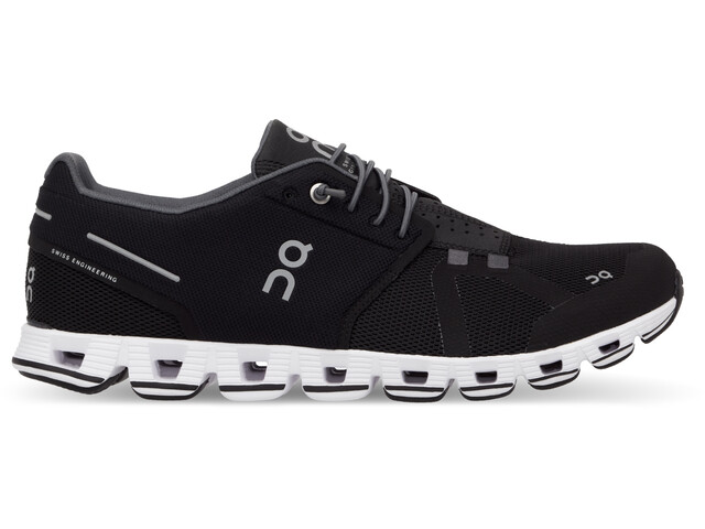 On Cloud Shoes Dame black-white